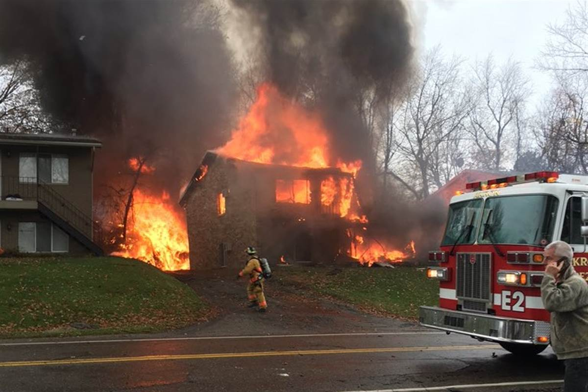 Deaths Confirmed as Small Plane Crashes in Akron, Ohio -