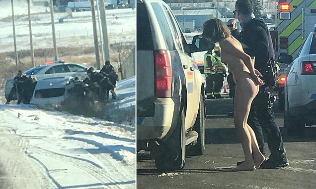 Naked Woman Arrested Walking Down Street With Severed Head Of Her Daughter And Blood
