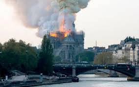 BREAKING NEWS: Notre Dame Cathedral in Paris on fire, live