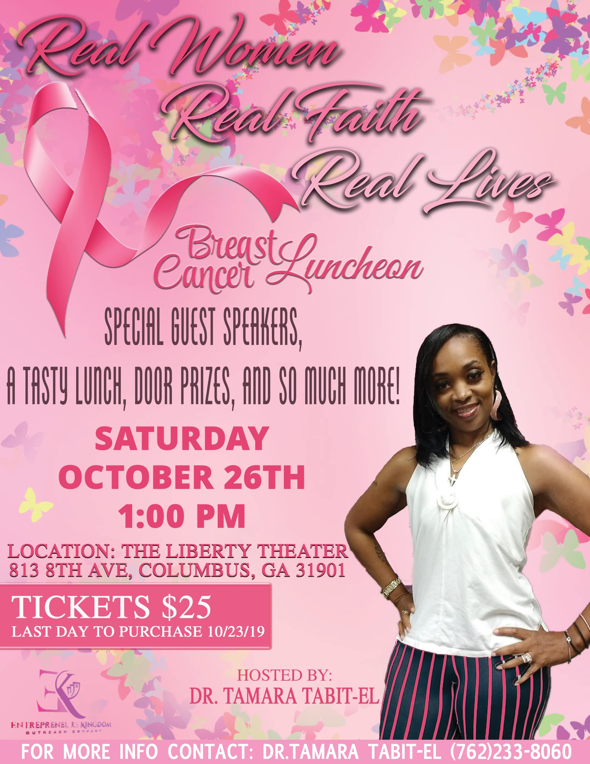 Real Women Real Faith Real Lives Breast Cancer Luncheon